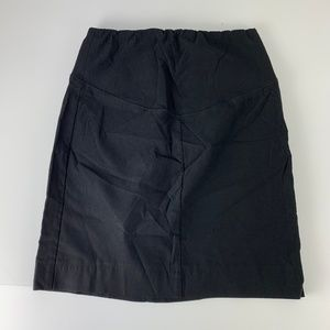 A Pea In The Pod Small Straight Skirt Maternity